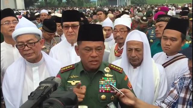 VIDEO: Di Monas, Panglima TNI Ungkap Ciri Pengacau dan Pengkhianat Bangsa : kabar Terupdate Hari Ini