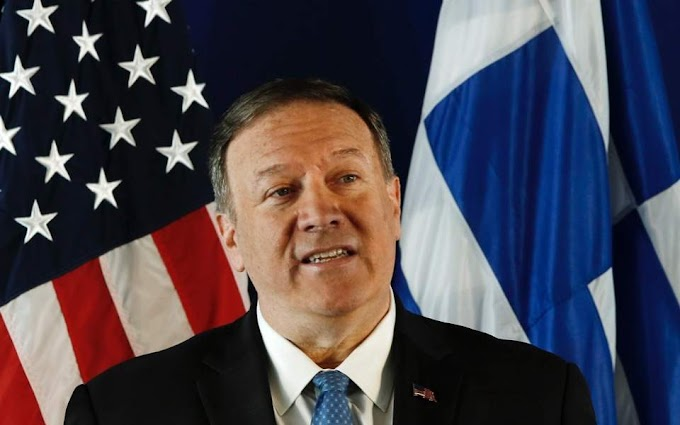 Πομπέο: Οι ΗΠΑ θα διαμεσολαβήσουν για να πέσουν οι τόνοι ανάμεσα σε Ελλάδα και Τουρκία