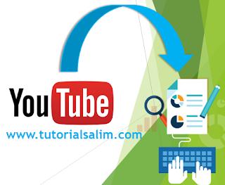 2 Cara Memasukkan Video dari Youtube Ke Postingan Blog