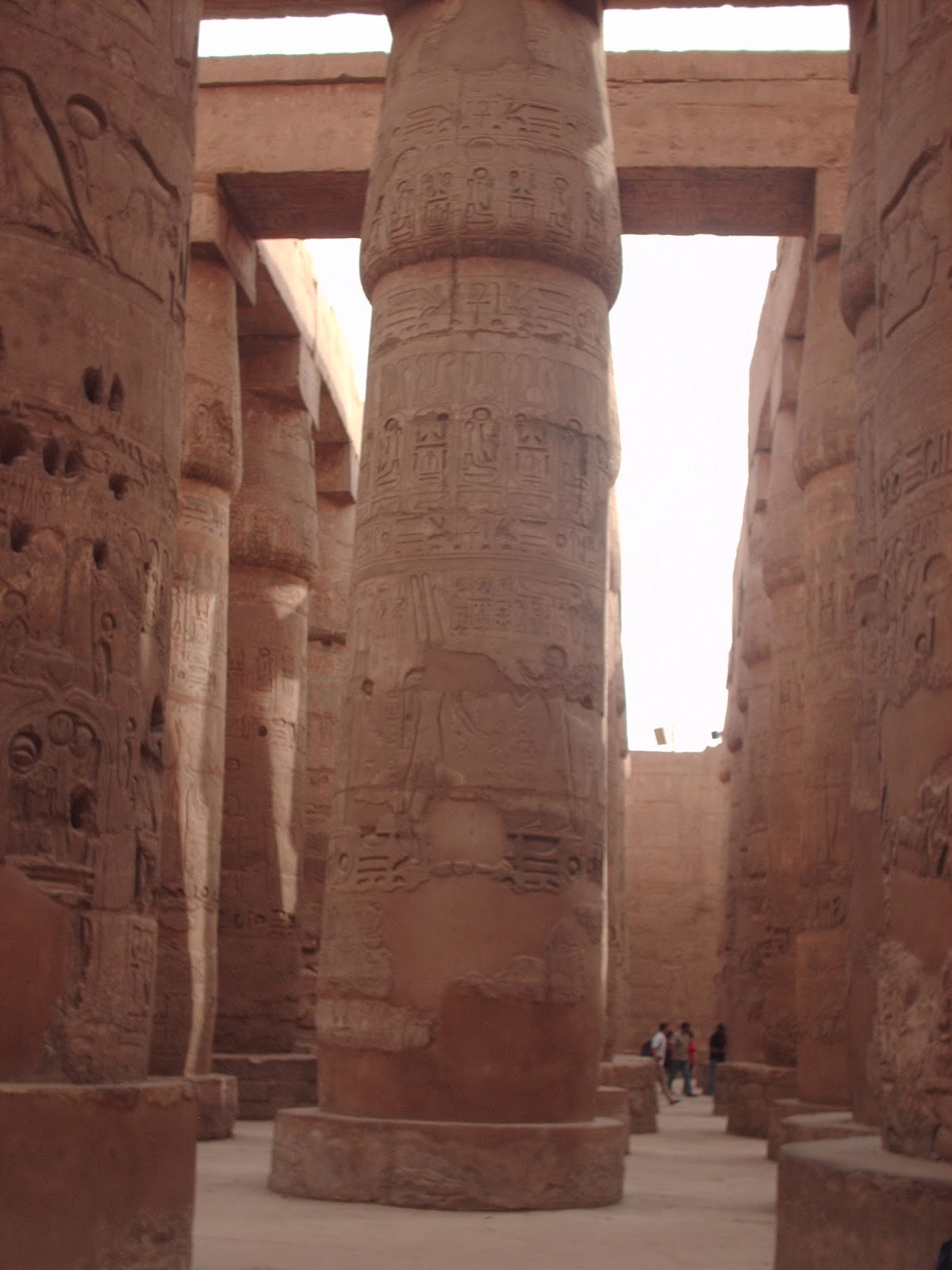 Geografa Historia y Arte La sala hipstila del Templo de Karnak