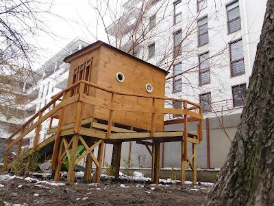 Akadálymentesített lombház