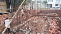 Tukang Pasang dinding dan Struktur untuk Pembangunan Rumah Baru di Bintaro
