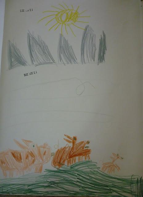 Schwein im Kindergarten