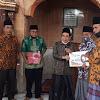 Wako AJBKembali serahkan Bantuan Pembangunan Masjid