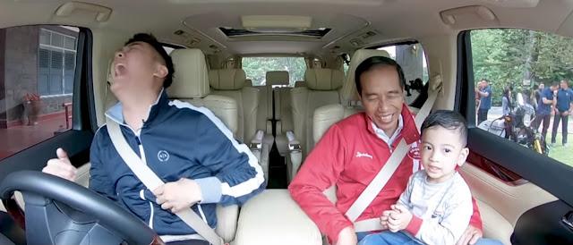 Ditanya Boy Wiliam, Pak Jokowi itu Guru atau Presiden?, Jawaban Jan Ethes Bikin Ngakak