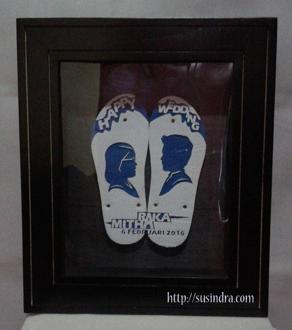 sandal ukir pernikahan susindra
