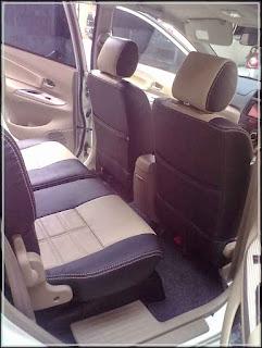 gambar harga sarung jok mobil Avanza