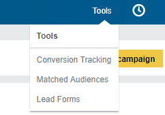 Linkedin advertising tools