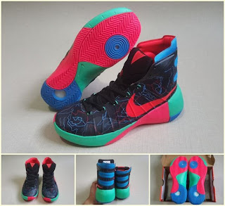 innovative design 3b92a 87b78 ... NIKE HYPERDUNK 2015 BLACK RED ORANGE . ...
