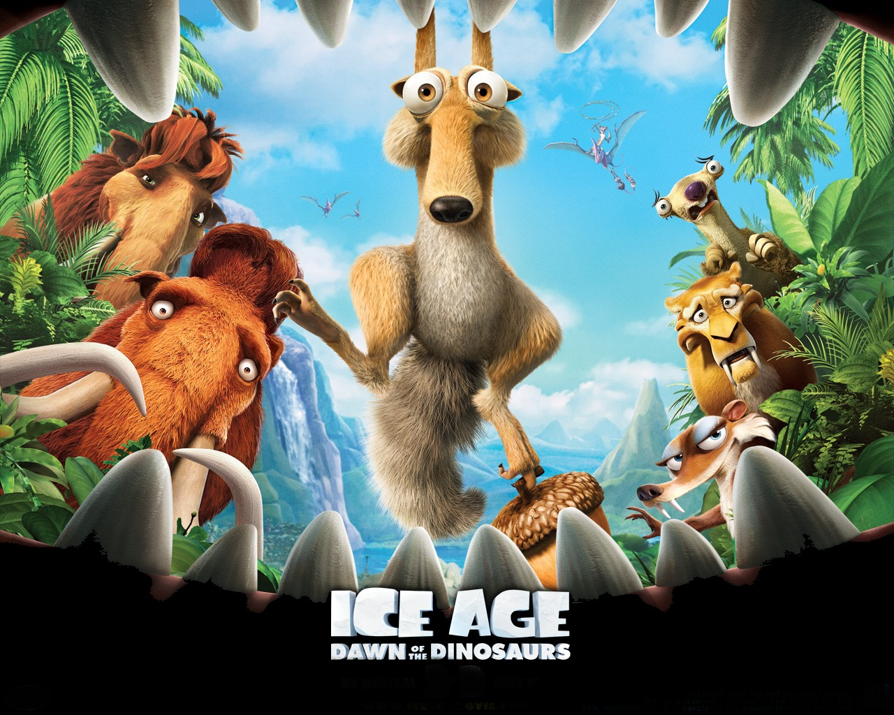 Ice age III: Dawn of the Dinosaurs Wallpapers | Wallpaper ...