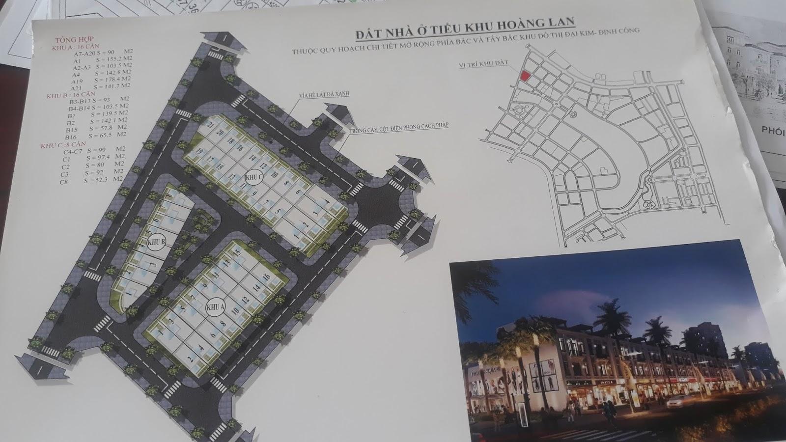 Liền kề mặt phố Khu Đô Thị mới Đại Kim | Định Công