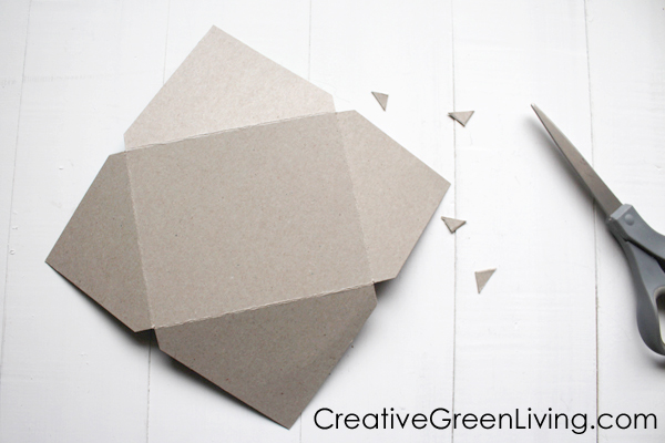 How to make a homemade envelope for a card