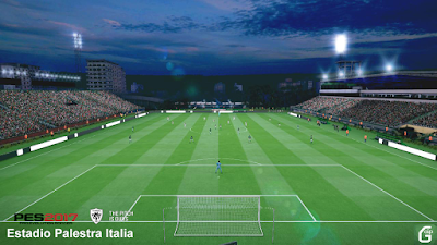 PES 2017 Stadium Estádio Palestra Itália UPDATE by PES Mod Goip