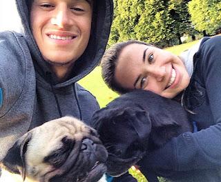 Philipe Coutinho's dogs
