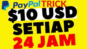 Cara Dapat Duit Free $10.00 USD (PayPal) Setiap 24 Jam! Dapat duit percuma sekarang 2020