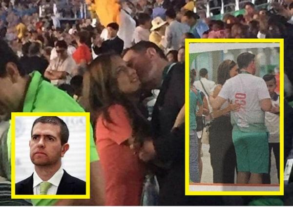 Alfredo Castillo pidió perdón por llevar a su novia a los Juegos Olímpicos de Río