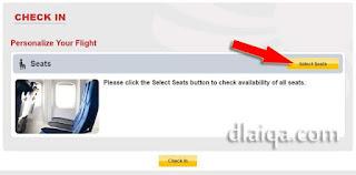 klik Select Seats