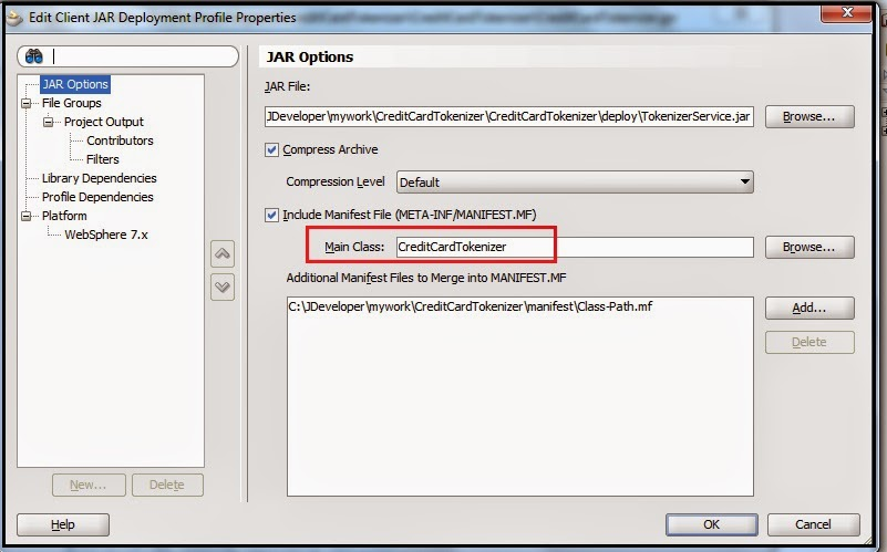 Building a executable JAR file with external libraries