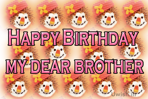 Happy Birthday to brother e greeting cards and wishes