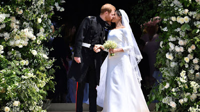 Harry and Meghan celebrate first wedding anniversary