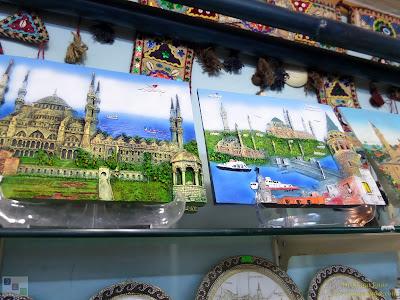 Eminonu, Sultanahmet, Istanbul, Turkey, Ramos Gift Shop