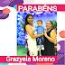 Feliz aniversário hoje para Grazyela Moreno s