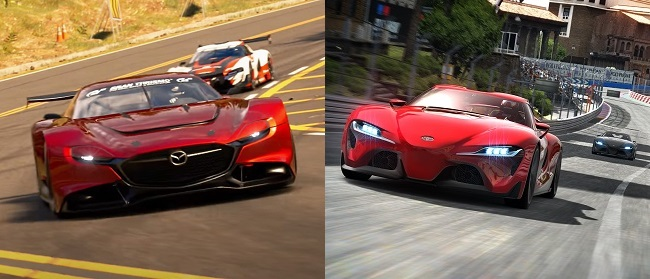 Differences in GT 7 vs GT 6 in Graphics