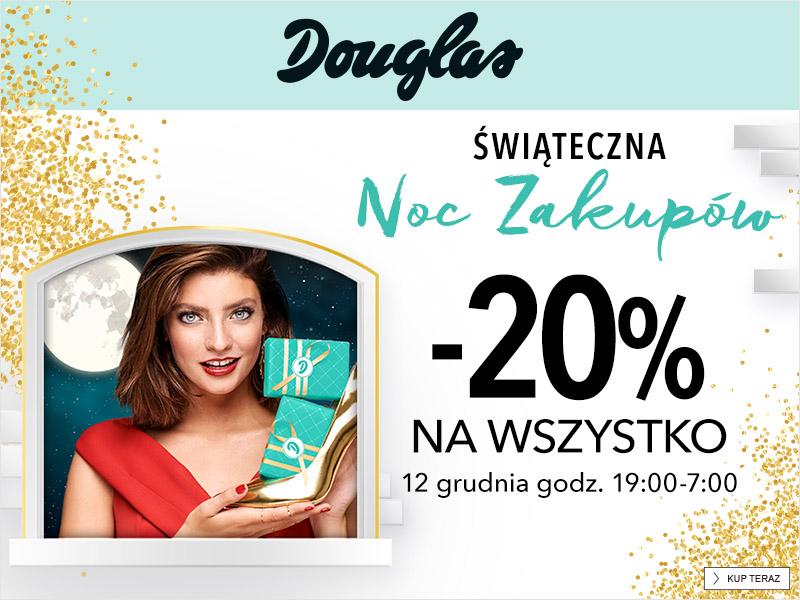 Noc Zakupów Douglas | Darmowa Dostawa Sephora | -50% Zestawy Świąteczne NYX