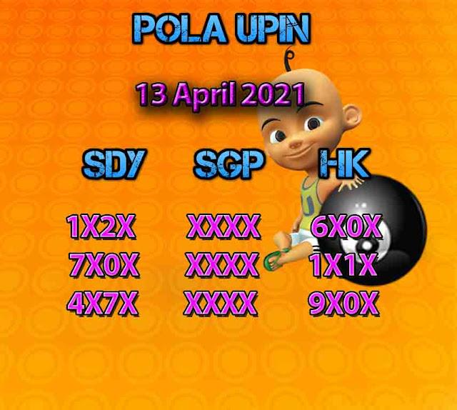 Syair HK Upin 13 April 2021