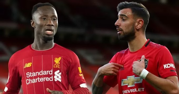 Manchester United fans hit back at Bruno Fernandes and Naby Keita claim