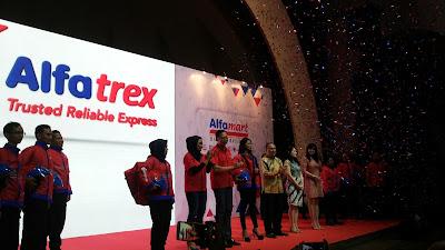 Launching Alfatrex, solusi baru pengiriman barang
