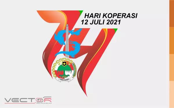 Hari Koperasi Nasional (Harkopnas) 2021 Logo - Download Vector File AI (Adobe Illustrator)