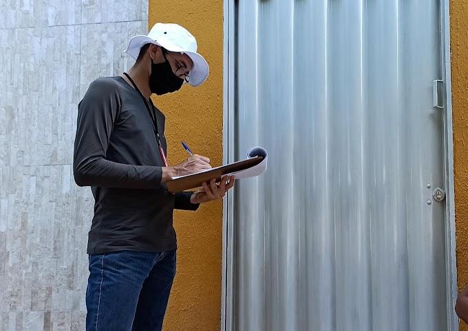Mais uma pesquisa eleitoral passa pelas ruas de Grossos