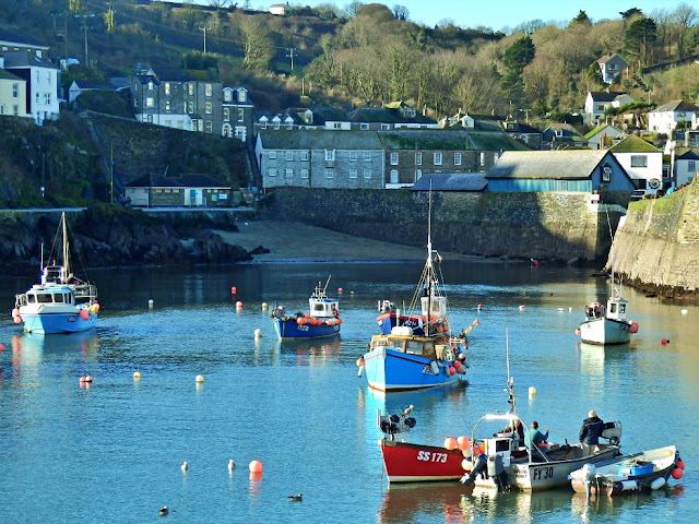 Harbour and boats Mevagissey, Cornwall