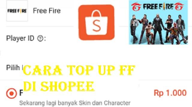 Cara Top Up FF di Shopee