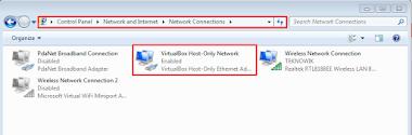 Cara Mengatasi Jaringan pada Host-Only Adaptor di Virtualbox