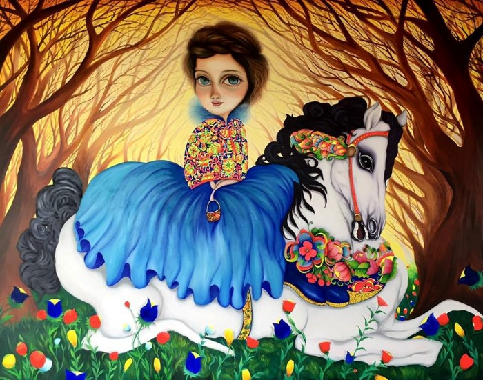 Андский сюрреализм. Joan Alfaro