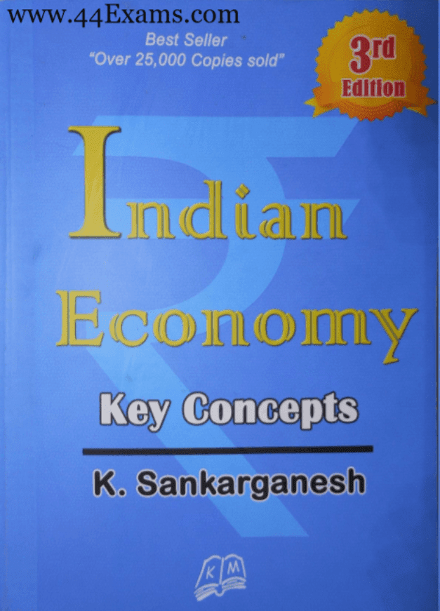 Indian-Economy-Key-Concepts-by-K-Sankarganesh-For-UPSC-Exam-PDF-Book