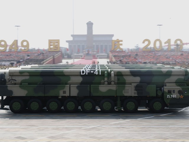 ChinaVirus,the contagion of democracy  :China may double its nuclear arsenal in just 10 years. Don't panic.