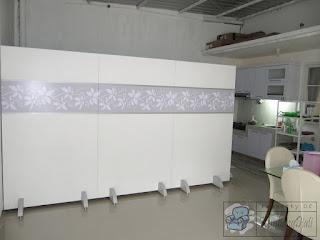 Sekat Partisi Modern Portable + Furniture Semarang
