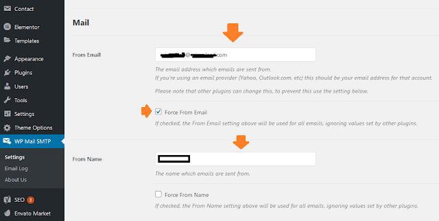 How To Configure WP Mail SMTP For Sendinblue Mailer - WordPress 2