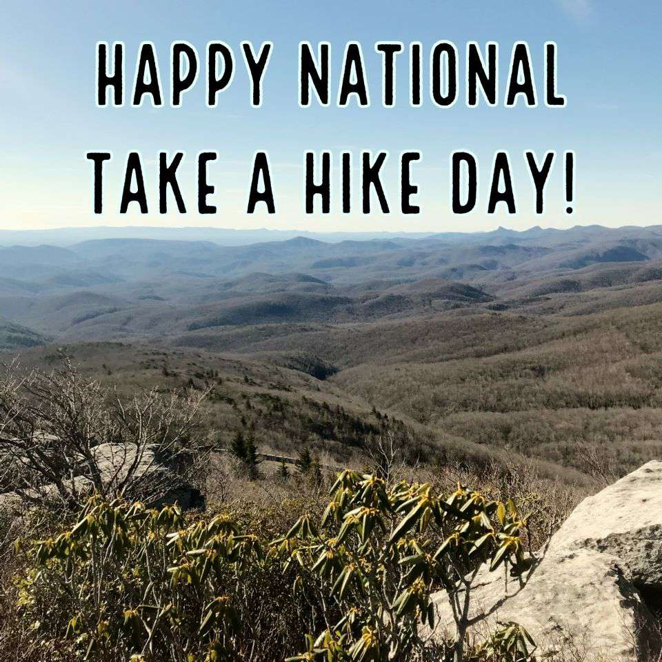 National Take a Hike Day Wishes Sweet Images