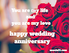100 Happy Marriage Anniversary Wishes for Wife, Quotes, Images in English,