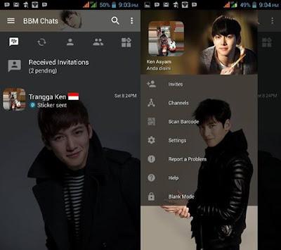 BBM Mod Ji Chang Wook V3.2.0.6 Apk