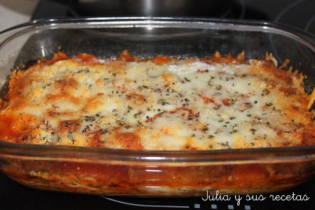 Berenjenas a la parmesana. Julia y sus recetas