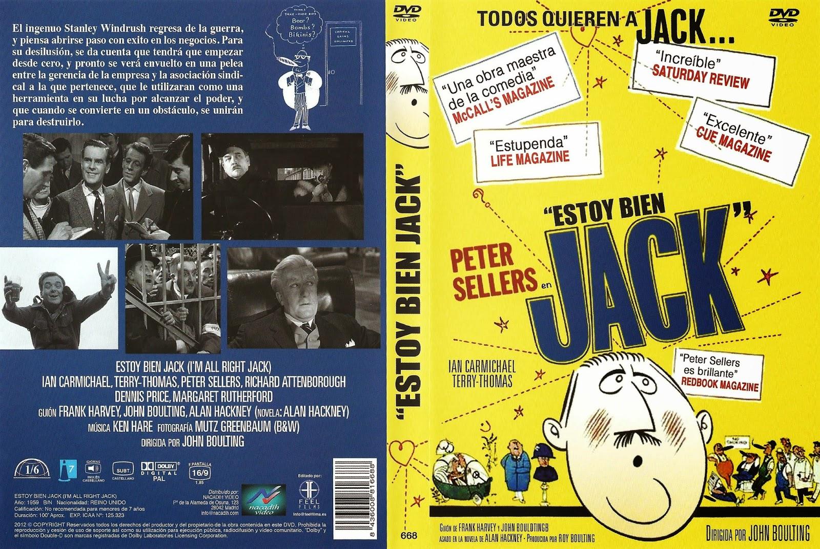 Carátula: Estoy bien, Jack (I'm All Right Jack) (1959)