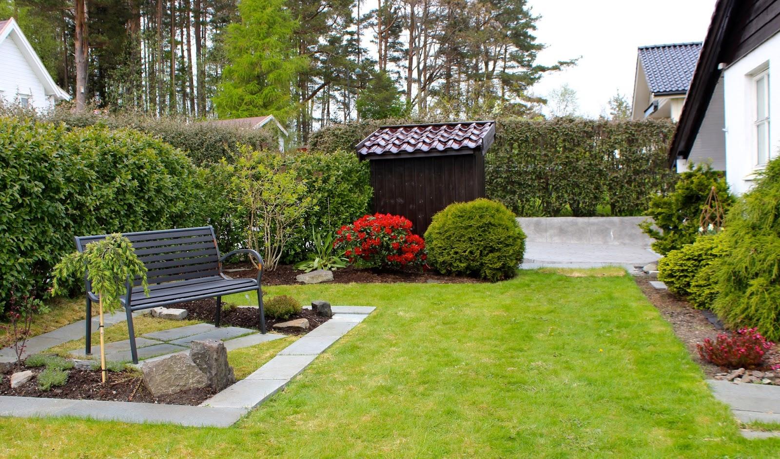 Seriøst Liv og Gus i hytte og hus: Del II av japansk inspirert hage DF-65