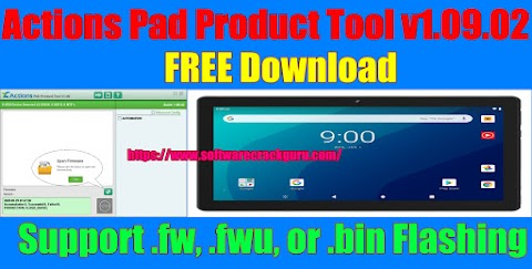 Actions Pad Product Tool v1.09.02 (.fw, .fwu, or .bin Flashing) Free Download