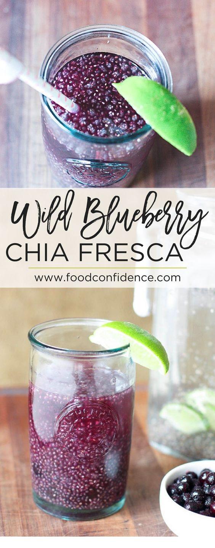 Wild Blueberry Chia Fresca