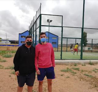 Javier Sancho  y Diego Arcos